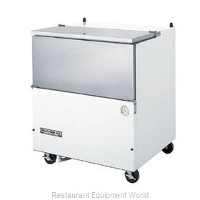 Beverage Air SM34N-W Milk Cooler / Station