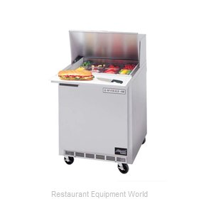 Beverage Air SPE27-12M-B Refrigerated Counter, Mega Top Sandwich / Salad Unit