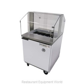 Beverage Air SPE27-SNZ Refrigerated Counter, Sandwich / Salad Top