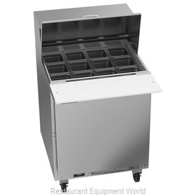 Beverage Air SPE27HC-12M-B Refrigerated Counter, Mega Top Sandwich / Salad Unit