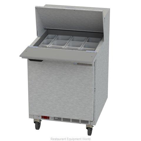 Beverage Air SPE27HC-12M Refrigerated Counter, Mega Top Sandwich / Salad Unit