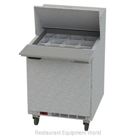 Beverage Air SPE27HC-12M Refrigerated Counter, Mega Top Sandwich / Salad Unit
