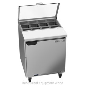 Beverage Air SPE27HC-B-CL Refrigerated Counter, Sandwich / Salad Top