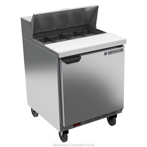 Beverage Air SPE27HC-B Refrigerated Counter, Sandwich / Salad Top