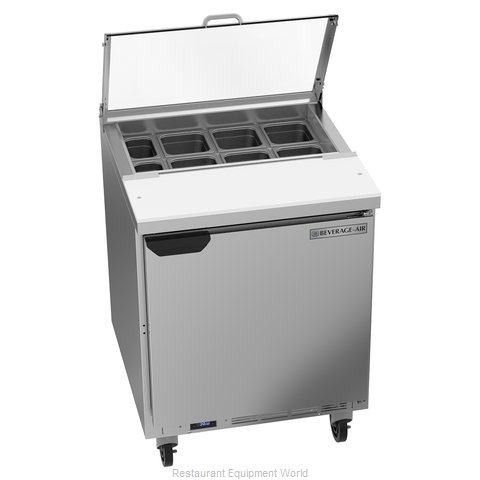 Beverage Air SPE27HC-CL Refrigerated Counter, Sandwich / Salad Top