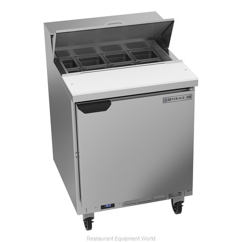 Beverage Air SPE27HC Refrigerated Counter, Sandwich / Salad Top