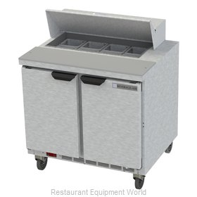 Beverage Air SPE36HC-08 Refrigerated Counter, Sandwich / Salad Top