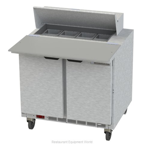 Beverage Air SPE36HC-08C Refrigerated Counter, Sandwich / Salad Top