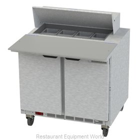 Beverage Air SPE36HC-08C Refrigerated Counter, Sandwich / Salad Top