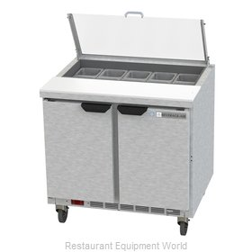 Beverage Air SPE36HC-10-CL Refrigerated Counter, Sandwich / Salad Top