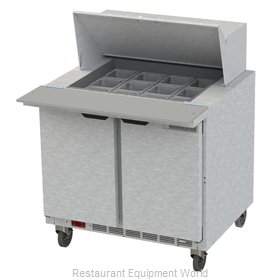 Beverage Air SPE36HC-12M Refrigerated Counter, Mega Top Sandwich / Salad Unit