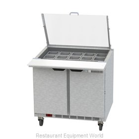 Beverage Air SPE36HC-15M-CL Refrigerated Counter, Mega Top Sandwich / Salad Unit