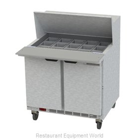 Beverage Air SPE36HC-15M Refrigerated Counter, Mega Top Sandwich / Salad Unit