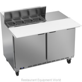 Beverage Air SPE48HC-08C Refrigerated Counter, Sandwich / Salad Top