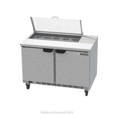 Beverage Air SPE48HC-10-CL Refrigerated Counter, Sandwich / Salad Top