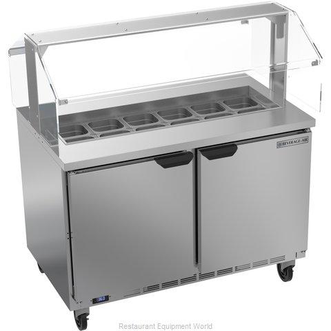Beverage Air SPE48HC-12-SNZ Refrigerated Counter, Sandwich / Salad Top