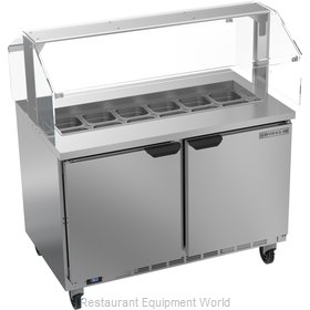 Beverage Air SPE48HC-12-SNZ Refrigerated Counter, Sandwich / Salad Top