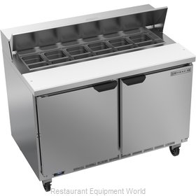 Beverage Air SPE48HC-12 Refrigerated Counter, Sandwich / Salad Top