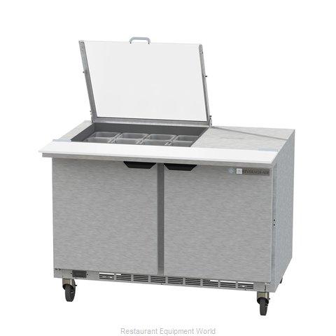 Beverage Air SPE48HC-12M-CL Refrigerated Counter, Mega Top Sandwich / Salad Unit