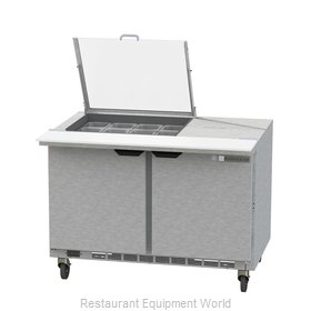 Beverage Air SPE48HC-12M-CL Refrigerated Counter, Mega Top Sandwich / Salad Unit