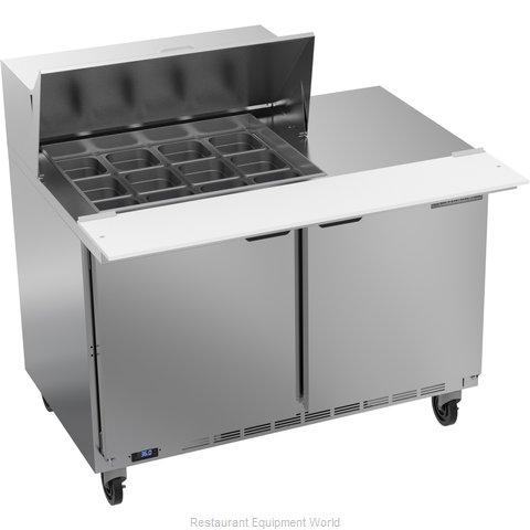 Beverage Air SPE48HC-12M Refrigerated Counter, Mega Top Sandwich / Salad Unit