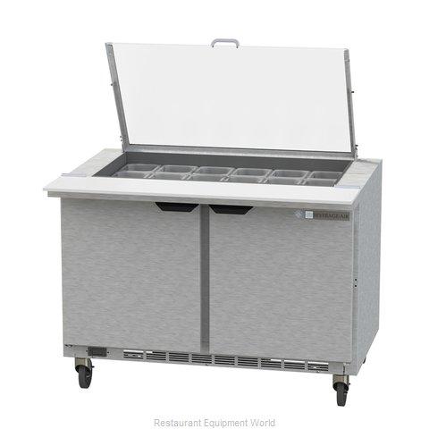 Beverage Air SPE48HC-18M-CL Refrigerated Counter, Mega Top Sandwich / Salad Unit