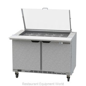 Beverage Air SPE48HC-18M-CL Refrigerated Counter, Mega Top Sandwich / Salad Unit