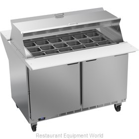 Beverage Air SPE48HC-18M-DS Refrigerated Counter, Mega Top Sandwich / Salad Unit