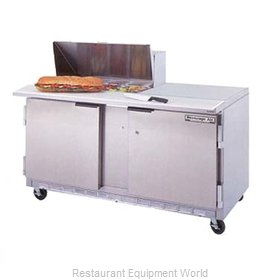 Beverage Air SPE60-08 Refrigerated Counter, Sandwich / Salad Top