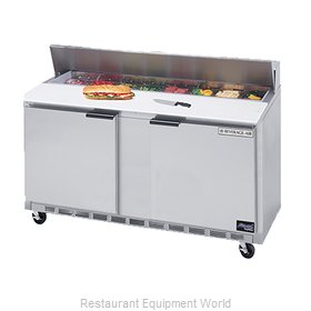 Beverage Air SPE60-12C Refrigerated Counter, Sandwich / Salad Top