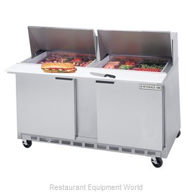 Beverage Air SPE60-12M Refrigerated Counter, Mega Top Sandwich / Salad Unit