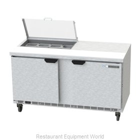 Beverage Air SPE60HC-08-CL Refrigerated Counter, Sandwich / Salad Top