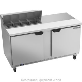 Beverage Air SPE60HC-08 Refrigerated Counter, Sandwich / Salad Top