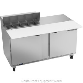 Beverage Air SPE60HC-08C Refrigerated Counter, Sandwich / Salad Top