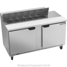 Beverage Air SPE60HC-12 Refrigerated Counter, Sandwich / Salad Top
