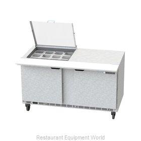 Beverage Air SPE60HC-12M-CL Refrigerated Counter, Mega Top Sandwich / Salad Unit