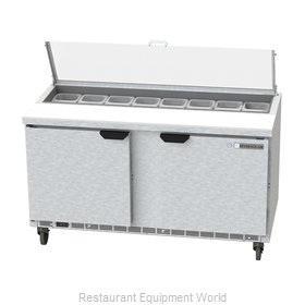 Beverage Air SPE60HC-16-CL Refrigerated Counter, Sandwich / Salad Top