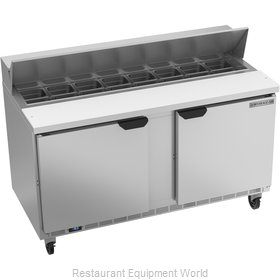 Beverage Air SPE60HC-16 Refrigerated Counter, Sandwich / Salad Top