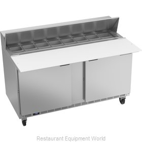 Beverage Air SPE60HC-16C Refrigerated Counter, Sandwich / Salad Top