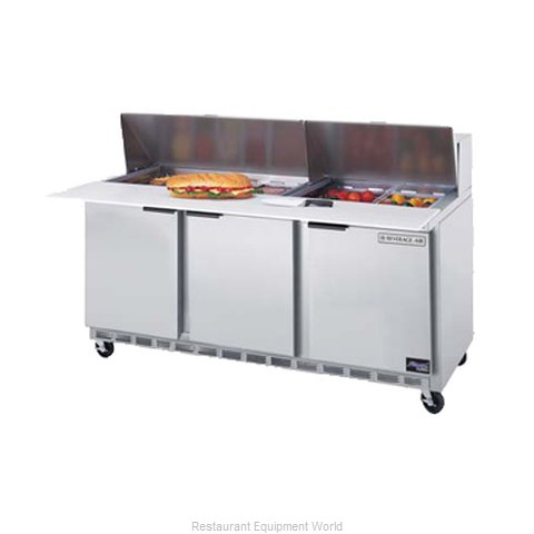 Beverage Air SPE72-08 Refrigerated Counter, Sandwich / Salad Top
