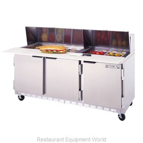 Beverage Air SPE72-18C Refrigerated Counter, Sandwich / Salad Top