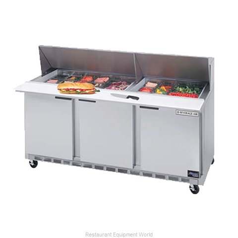 Beverage Air SPE72-18M Sandwich Unit