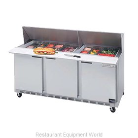 Beverage Air SPE72-24M Refrigerated Counter, Mega Top Sandwich / Salad Unit