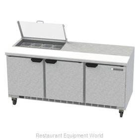 Beverage Air SPE72HC-08-CL Refrigerated Counter, Sandwich / Salad Top