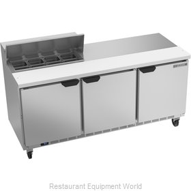Beverage Air SPE72HC-08 Refrigerated Counter, Sandwich / Salad Top