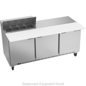 Beverage Air SPE72HC-08C Refrigerated Counter, Sandwich / Salad Top