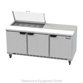Beverage Air SPE72HC-10-CL Refrigerated Counter, Sandwich / Salad Top