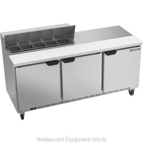 Beverage Air SPE72HC-10 Refrigerated Counter, Sandwich / Salad Top