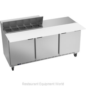 Beverage Air SPE72HC-10C Refrigerated Counter, Sandwich / Salad Top