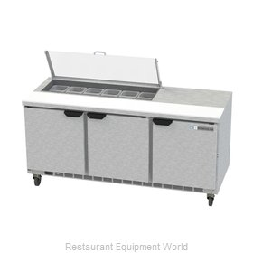 Beverage Air SPE72HC-12-CL Refrigerated Counter, Sandwich / Salad Top